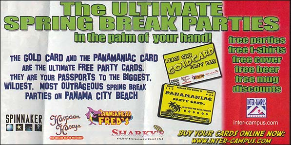 Ultimate Spring Break Parties Large Ad