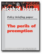 The Perils of Preemption Briefing Paper